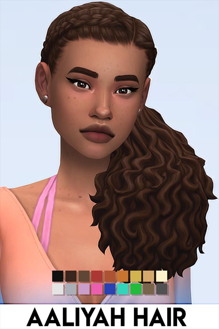 Aaliyah Sims 4 CC