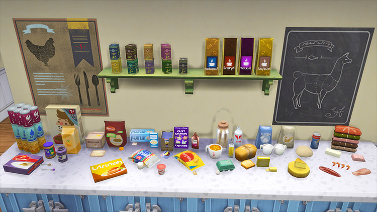 Srsly's Complete Cooking Overhaul Sims 4 mod