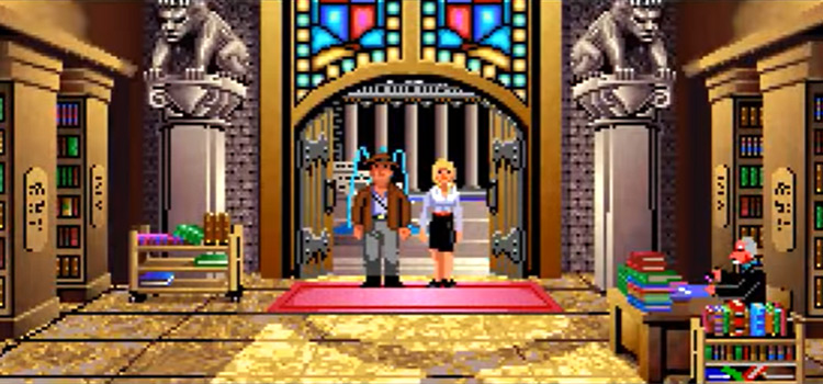 Indiana Jones & The Last Crusade game screenshot by LucasArts