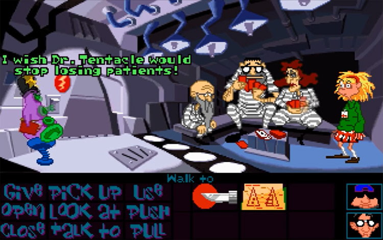 Day of the Tentacle Lucasarts screenshot