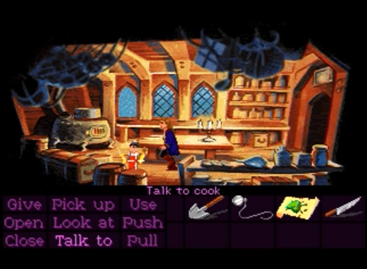 Monkey Island 2: LeChuck's Revenge game screenshot