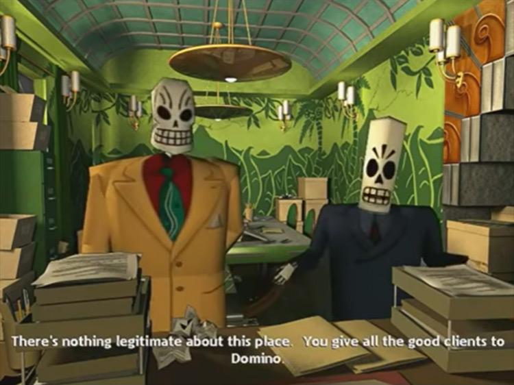 Grim Fandango Lucasarts screenshot