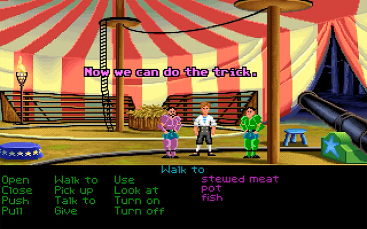 The Secret Of Monkey Island gameplay