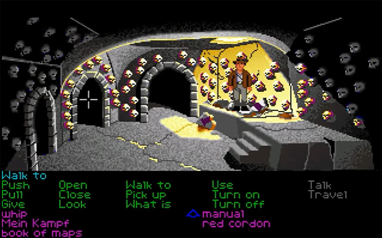 Indiana Jones & The Last Crusade gameplay screenshot
