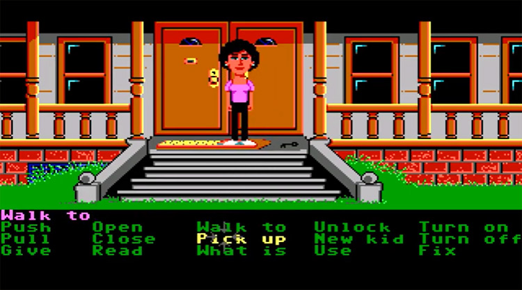 Maniac Mansion Lucasarts gameplay