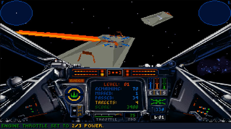 Star Wars: TIE Fighter gameplay screenshot
