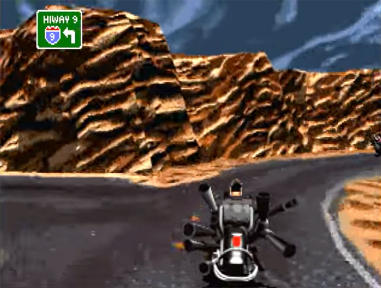 Full Throttle gameplay screenshot