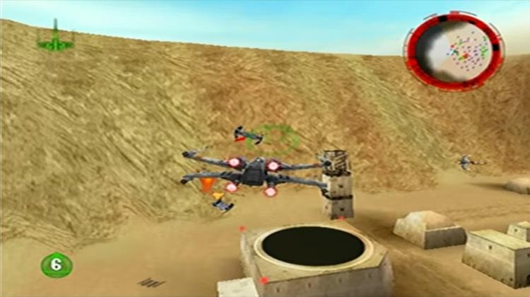 Star Wars: Rogue Squadron Lucasarts screenshot