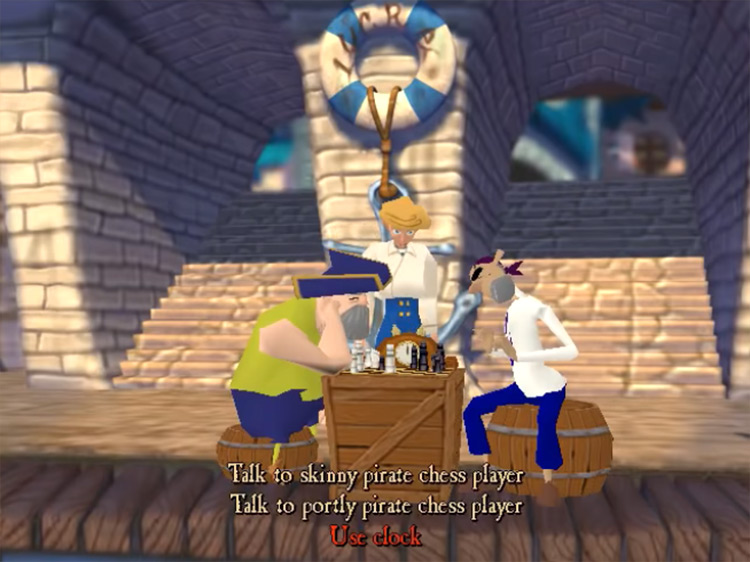 Escape from Monkey Island gameplay screenshot