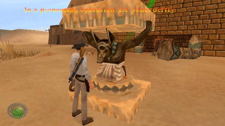 Indiana Jones and the Infernal Machine gameplay