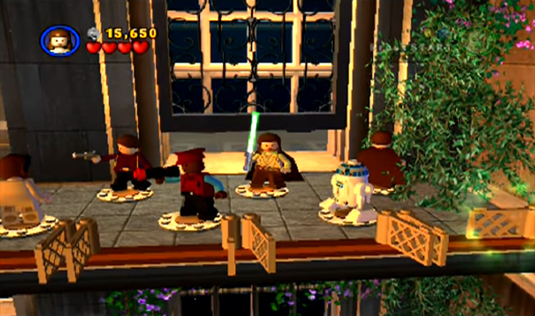 LEGO Star Wars gameplay screenshot