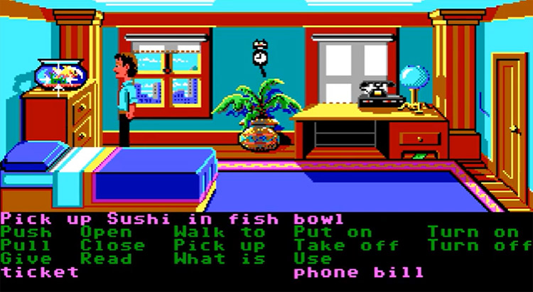 Zak McKracken and the Alien Mindbenders gameplay