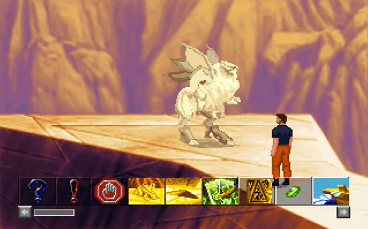 The Dig Lucasarts gameplay screenshot
