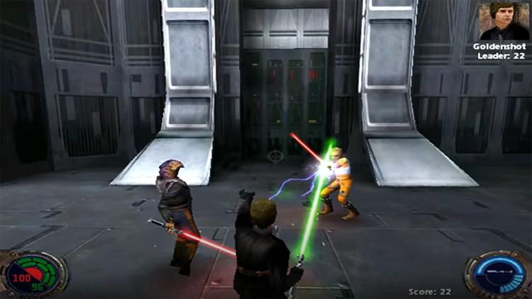 Star Wars Jedi Knight II: Jedi Outcast gameplay