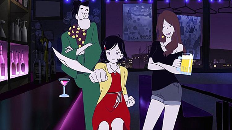 Night Is Short, Walk on Girl anime screenshot