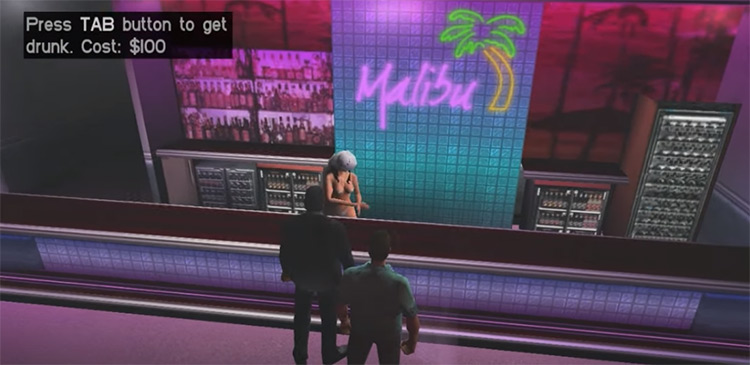 Get Drunk mod for Vice City