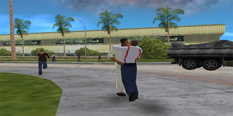 Security Kiss mod for Vice City