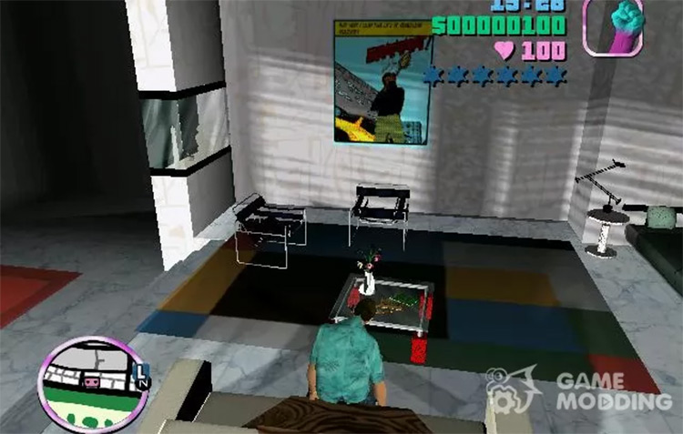Take a Nap in Vice City