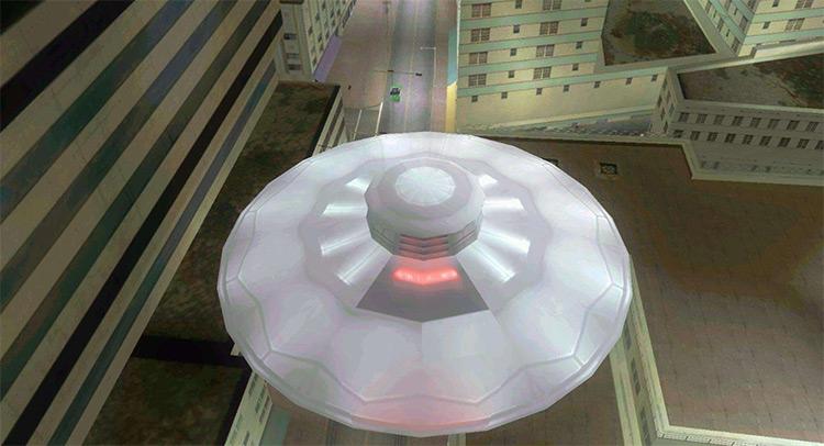 UFO Mod - GTA Vice City Screenshot