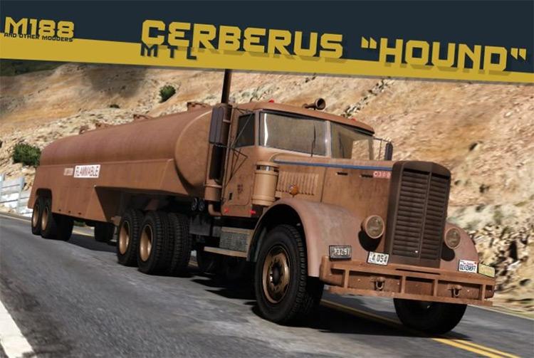 Cerberus MT Classic Tanker Trailer GTA5 Mod
