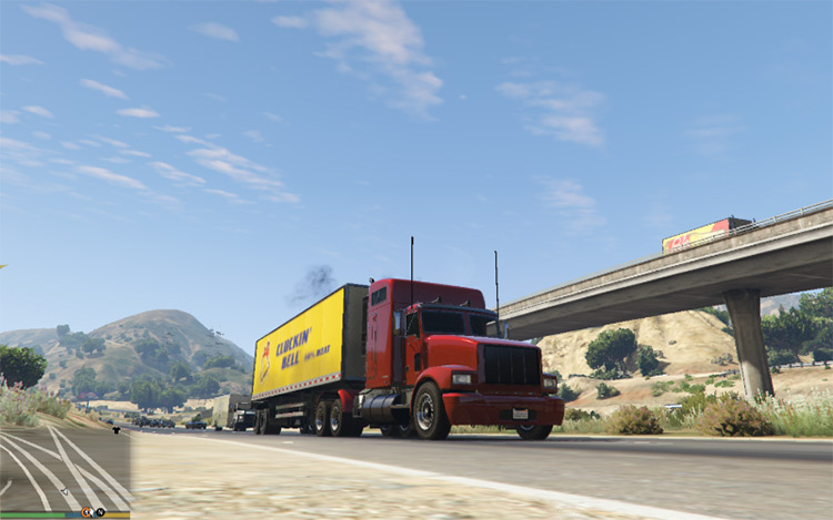 Trucking Missions - Modded GTA 5