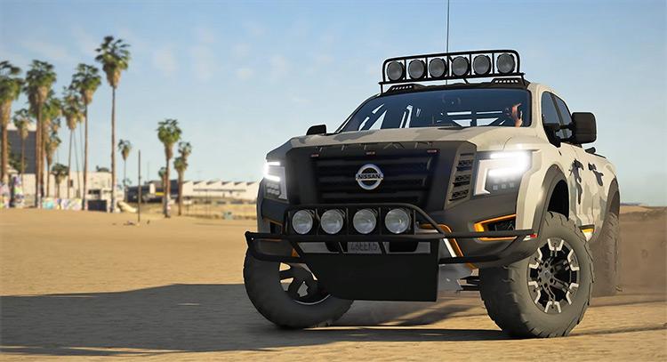 Nissan Titan Warrior Truck in GTA 5