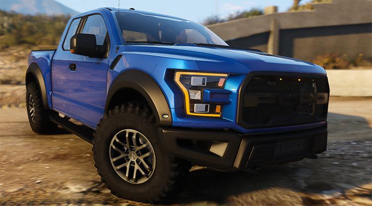 Ford Raptor 2017 Truck in GTA 5