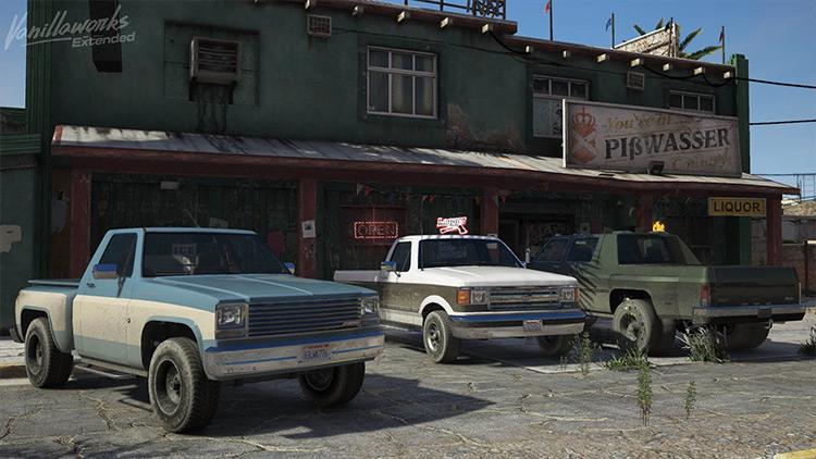Vanillaworks Extended Pack - New Cars/Trucks in GTA5