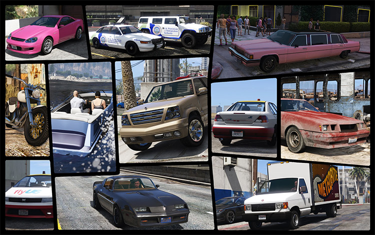 IV Pack - Trucks from GTA4 into GTA5