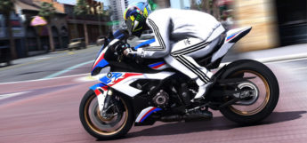 BMW Motorcycle Mod - GTA 5 HD Screenshot