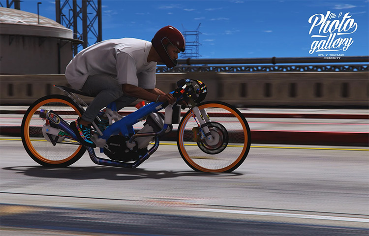 Weight Reduction Drag Bike GTA5 Screenshot
