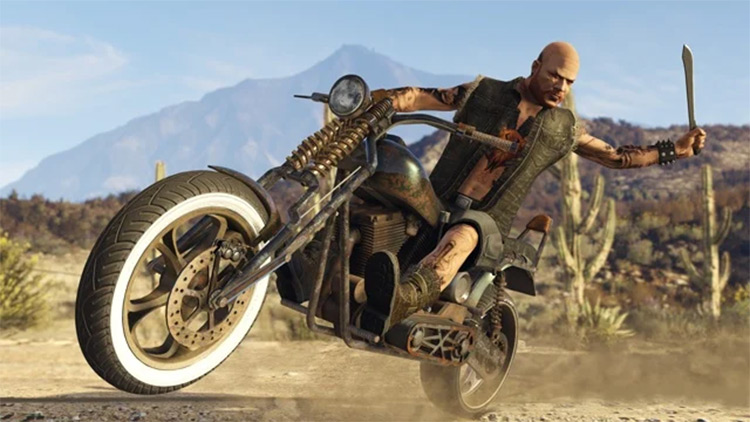 Biker Melee SP Mod for GTA5