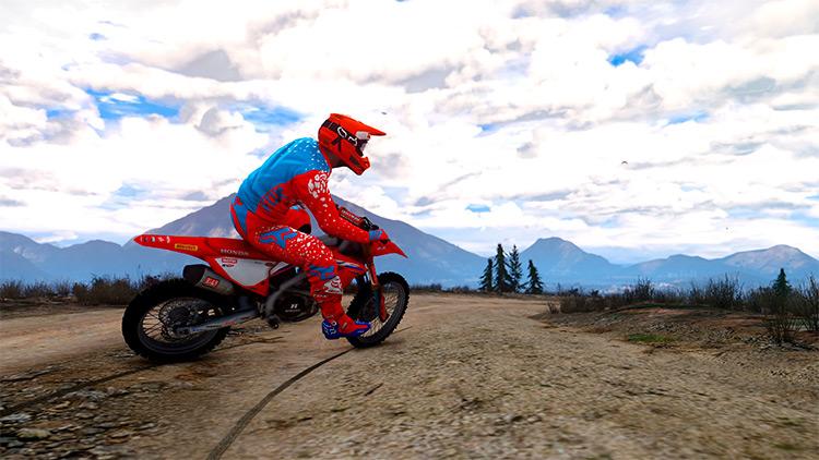 2021 Honda CRF450RW Motorbike - GTA5 Bike Mod