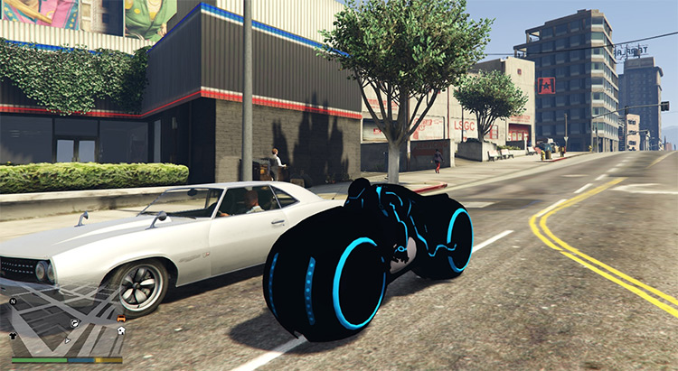 Tron Bike Mod for GTA5