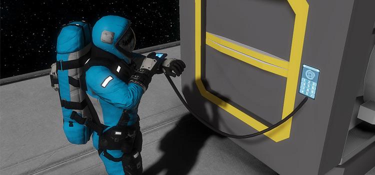Space Engineers animated mod screenshot