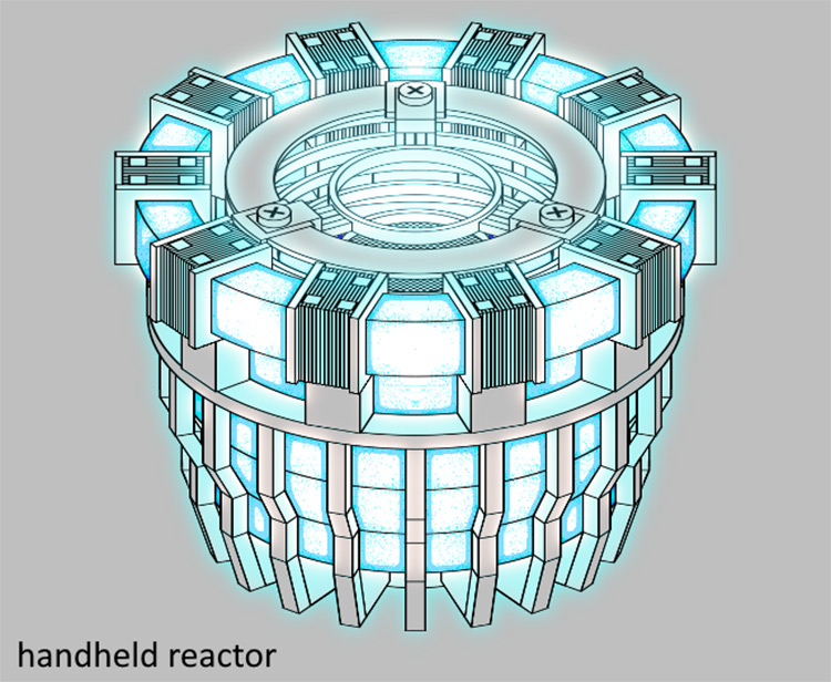 Iron Man Reactor Mod for Space Engineers