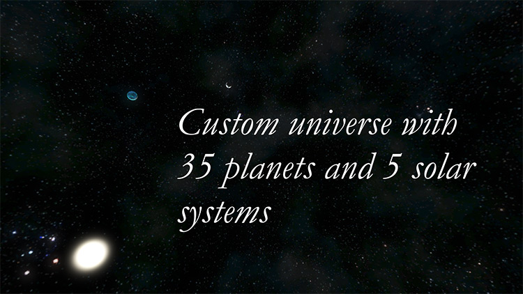 Custom Universe Mod for Space Engineers