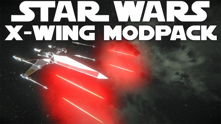 Star Wars X-Wing Modpack Space Engineers