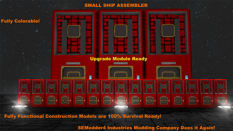 Small Ship Mega Mod Pack Space Engineers