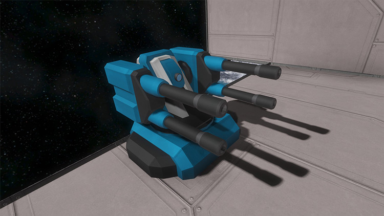 Battle Cannon and Turrets Mod