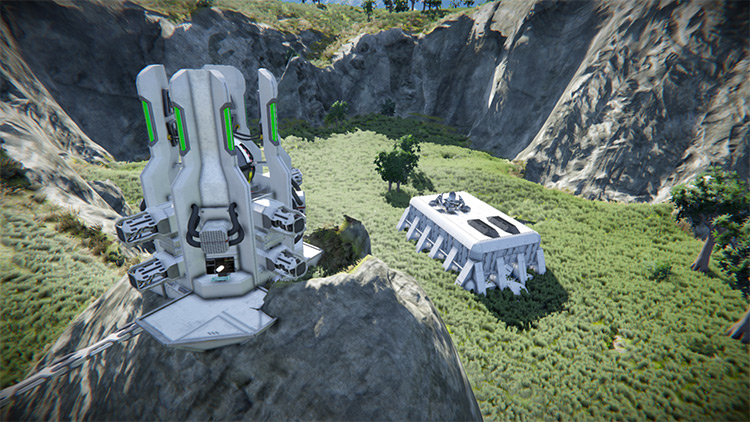 Nanite Control Facility Mod for Space Engineers