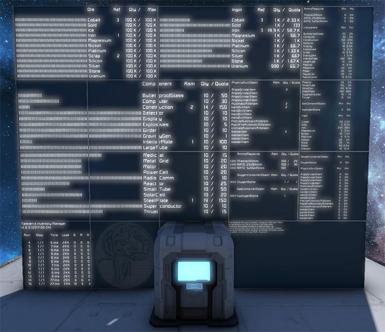Taledens Inventory Manager Mod
