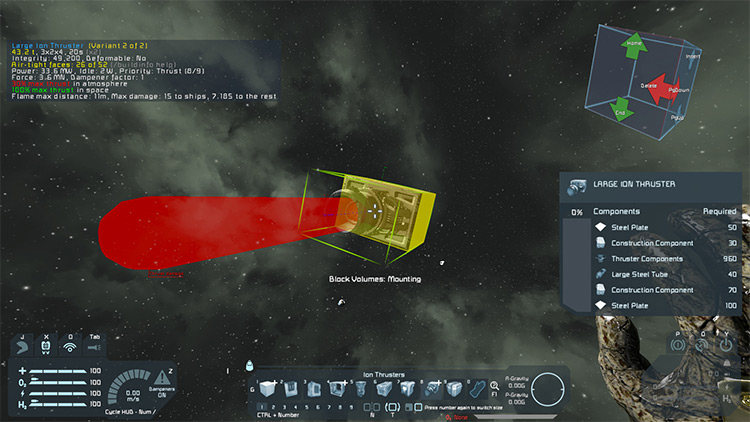 BuildInfo Mod for Space Engineers