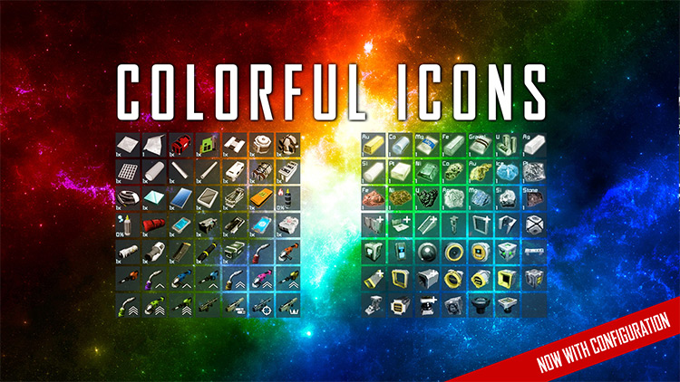 Colorful Icons for Space Engineers