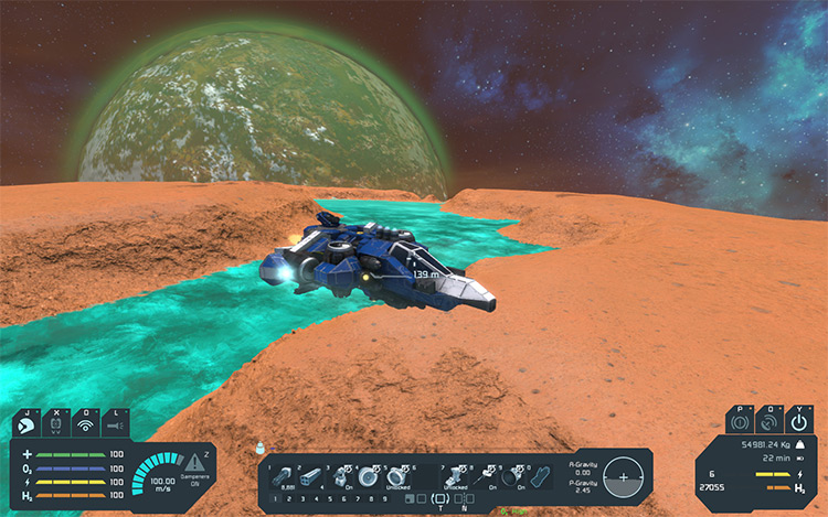 HUD Colors Mod for Space Engineers