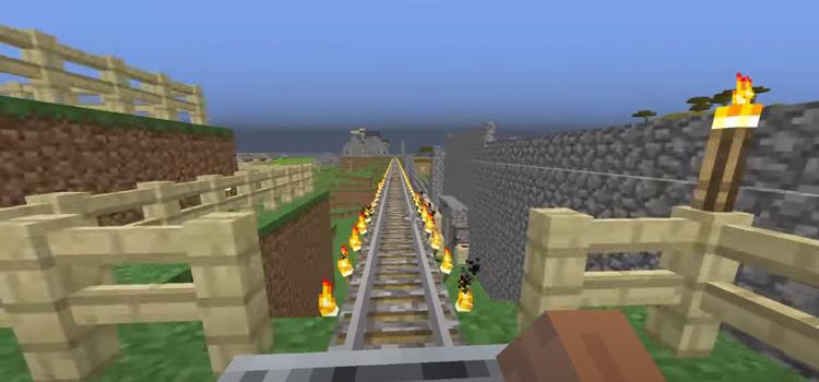 Automated Minecraft Minecart screenshot