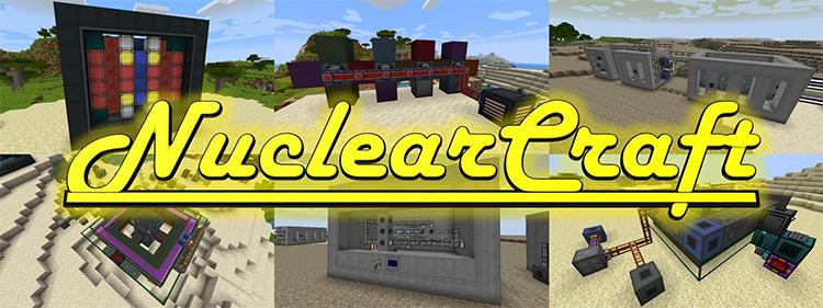 Nuclear Craft Minecraft modded