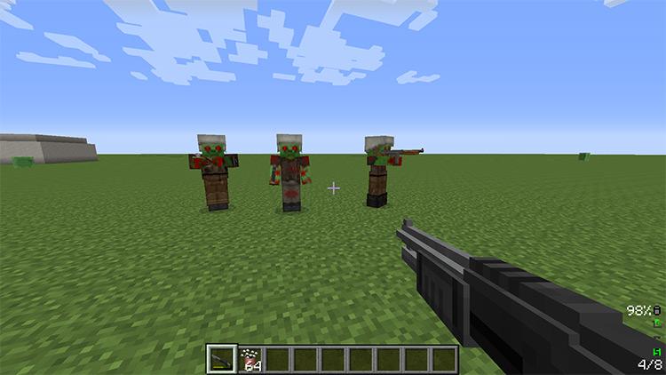 Tech Guns Mod for Minecraft