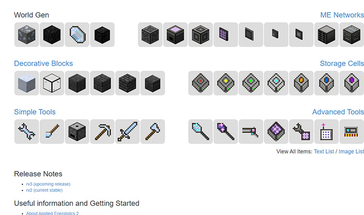Applied Energistics Minecraft Mod