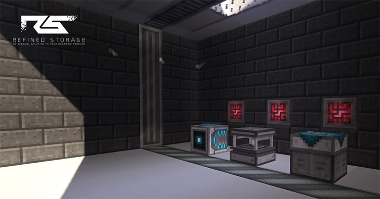 Refined Storage - Tech Storage Minecraft Mod